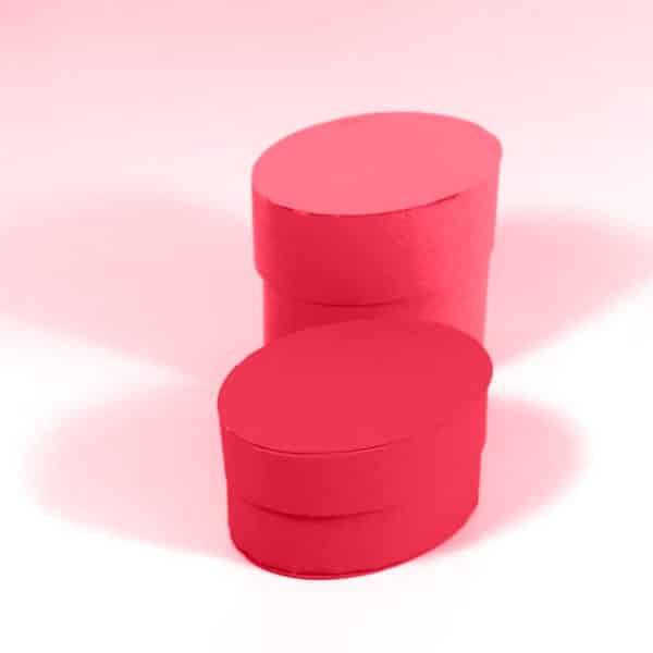 עיצוב אריזה קופסא מעוצבתקופסא אובלית עם מכסה